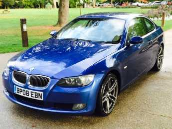 BMW 3 Series 3.0 330d SE 2dr Coupe Diesel Blue at Essex Car Centre Billericay